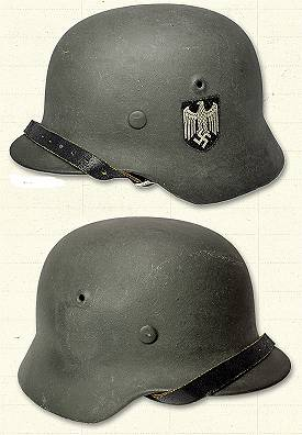 German M-40 Helmets