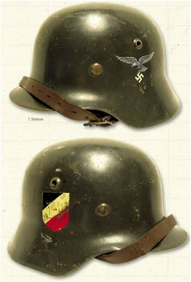 Model 1935 M-35 Steel German Helmets