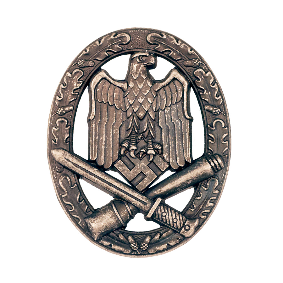 German Army General Assault Badge w/Pinback, Antique ...