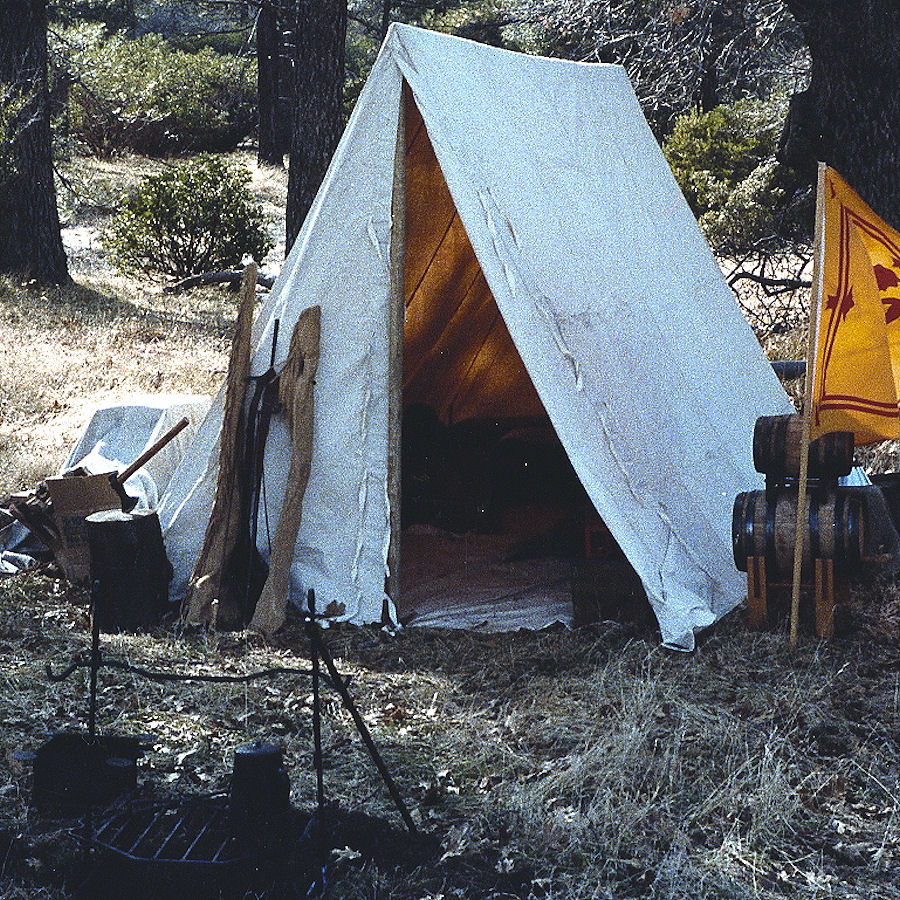 Wedge Tents & Wedge Tents- French u0026 Indian War Tent- Revolutionary War Tents ...