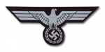 German WWII Uniform BeVo Breast Eagle - Panzer EM