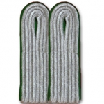 WW2 German Officers Shoulder Boards - Administrative (Dk. Green) - Reddick Militaria
