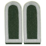 WW2 German Shoulder Boards:  Army EM- Unterfeldwebel - Reddick Militaria