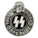 Waffen SS Party Badge - 2-Piece