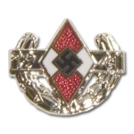 Hitler Youth 1941 Honor Clasp Stickpin - Silver - Reddick Militaria