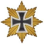 German WW1 1914 Star of the Grand Cross of the Iron Cross