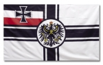 German Iron Cross WWI Battle Flag (Coat of Arms) - Reddick Militaria