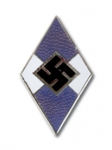 Hitler Youth Grip Insignia - Blue