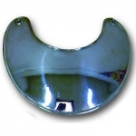 Gorget -  Nickel Silver - Large Plain
