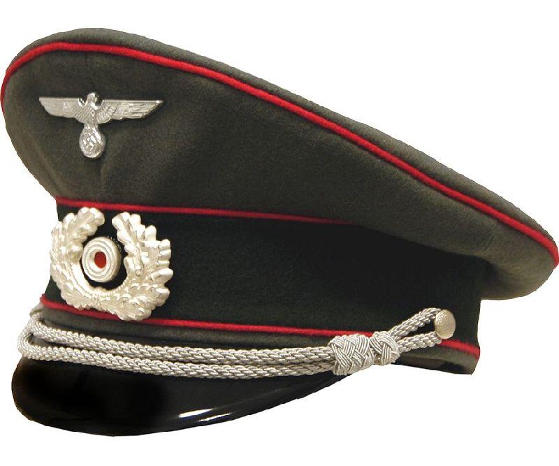 4593f1ce43c German Army Panzer Officer Visor Cap - Reddick Militaria ...