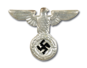Early SS Cap Eagle, silver