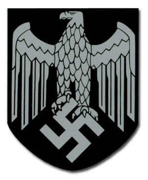 Third Reich Nazi Ww2 German Helmet Decals Pairs Singles