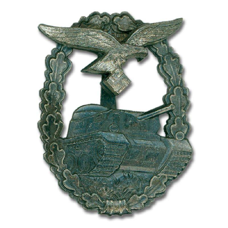 German WW2 Luftwaffe Panzer Assault Badge - Reddick Militaria