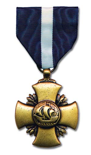 US Navy Cross Medal