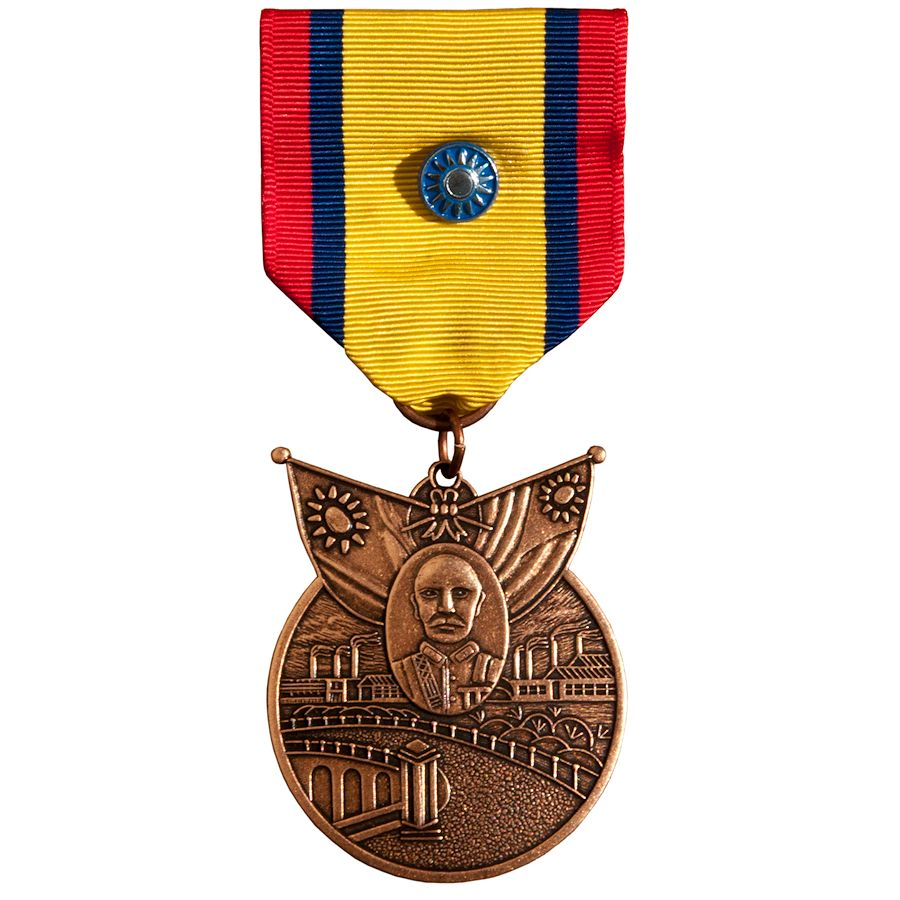 China WWII War Service Medal