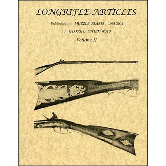 Longrifle Articles - Muzzle Blasts, 1965-2001 - Shumway