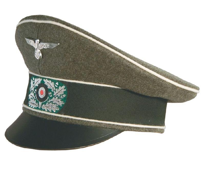 Ww2 German Army Infantry Officer S Crusher Hat Reddick