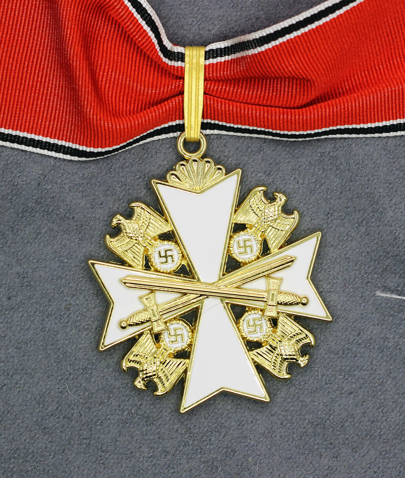 German Eagle Order Neck Cross, 1st Class with Swords