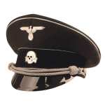 German World War 2 Allgemeine SS Generals Visor Caps - Economy