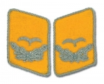 Luftwaffe Officer Collar Tabs - Leutnant