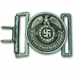 Museum Quality SS Officer Belt Buckle in Aluminum