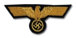 Breast & Sleeve Eagle, Army General -Buillion