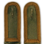 DAK Shoulder Boards, Olive Green – Army Unterfeldwebel