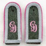 GD Assault Gunner Shoulder Boards - Unterfeldwebel