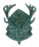 DJ Hunting Association Badge - Reddick Militaria