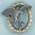 Luftwaffe Observers Badge by JMME - Museum Quality
