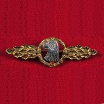 Operational Flight Clasp - Luftwaffe Reconnaissance, Air/Sea Rescue - Gold - Reddick Militaria