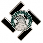 Reichstierschultzbund - State Animal Protection Society Enamel Pin