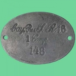Adolf Hitler World War I Replica Dogtag