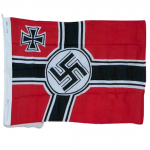 Nazi Battle Flag in Cotton - 2' x 3' - Slight Defects - LIMITED AVAILABILITY!