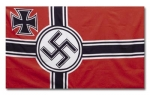 German WWII Battle Flag (Iron Cross & Swastika)