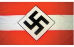 World War II Flags -   Hitler Youth - Reddick Militaria