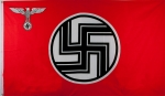 German Third Reich State Flag, 3'x 5'
