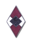 Hitler Youth Grip Insignia - Red