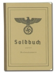 German Army Soldbuch (pay book).