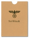 German Army Soldbuch Slip Case