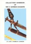 Collectors' Handbook of WWII German Daggers - 3rd Edition - Reddick Militaria