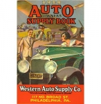 1929 Owners Supply Book - Western Auto - Reddick Militaria