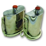 Revolutionary War Period Canteens - Stainless Steel - *TEMPORARILY UNAVAILABLE*