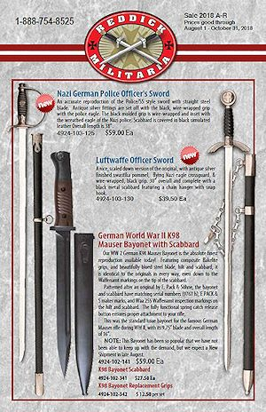 Reddick Militaria 2018 Fall Promotion